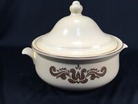 "Pfaltzgraff Village Pattern Covered Casserole Dish 8"" With Lid"