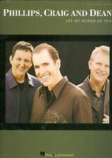Phillips Craig and Dean sheet music songbook Christian Let My Words Be Few