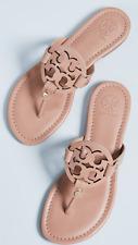 NIB Tory Burch miller sandals. Size 8. make up color.
