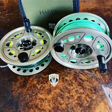 Hardy Gem 11/12 Salmon Spey Fly Reel & Spool with Floating & Sinking Lines