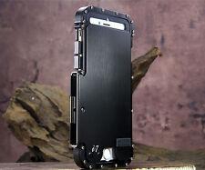 Armadura de Metal Híbrido A prueba de impactos de lujo Funda De Protección Completa 4 Samsung iPhone