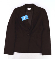 Next Womens Size 8 Brown Suit Jacket (Regular)
