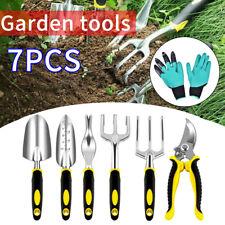 7PCS Garden Hand Tool Trowel Set Plant Weeding Tools Gardening Tools UK