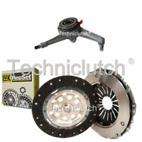 LUK 2 PART CLUTCH KIT AND CSC FOR VW TRANSPORTER / CARAVELLE BUS 2.5 TDI SYNCRO