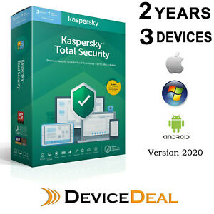 Kaspersky Total Security 3 Device 2 Year License Key 2021 Version
