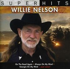 Willie Nelson - Super Hits - CD ÁLBUM Dañado FUNDA