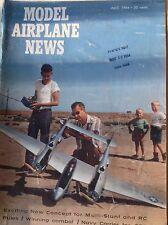 Model Airplane News Magazine Bolero Mauler April 1964 082317nonrh