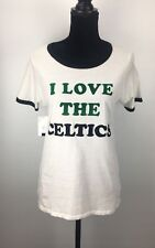 Junk Food Urban Outfitters I LOVE THE CELTICS Tee T-Shirt Size M (H274)