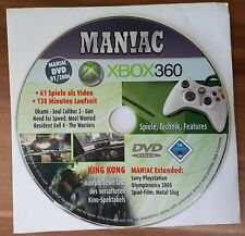 Man! ac Xbox 360 DVD 01/2006 61 juegos como vídeo