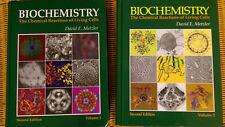 Biochemistry 1 und 2 - Metzler (Biochemie-Bücher auf Englisch neuwertig)