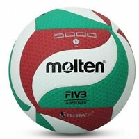 Molten Volleyball Genuine VSM5000 Ball Size 5 Soft Touch PU Leather Sport Games
