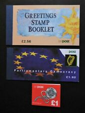 Ireland - 3 Booklets £5.48 Complete Used - CTO.