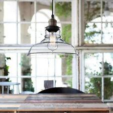 Contemporary Glass Pendant Light Kitchen Lamp Bar Modern Ceiling Lights Home