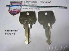 Key Blank for Peugeot 505 1980 to 1984 - AMC GTA, Renault LeCar & 118  (RN24)