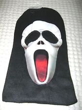 Scary Movie face SCREAM mask Ski Mask Red Tongue costume halloween attire-New