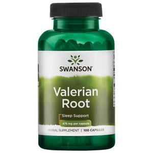 Swanson Valerian Root 475 mg 100 Capsules