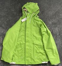Henri Lloyd X Nigel Cabourn Green Waterproof Spray Jacket Size L-XL New!!!