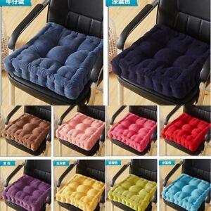 Cotton Chunky Booster Cushion Thick Seat Pads Chair Armchair Sofa Cushion MAT