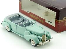 Rextoys Cadillac V16 1938-1940 Coupe De Ville Ferme Cabrio 1/43 OVP 1601-02-56