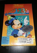 Mickey's 123s: The Big Surprise Party (Brand New PC, 1992)
