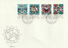 1976 Liechtenstein FDC cover Signs of Zodiac