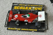 Scalextric C026 March Ford 721 Type 3 EXCELLENT