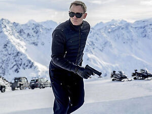 SPECTRE knitted sleeve bomber jacket - James Bond -High Quality Replica