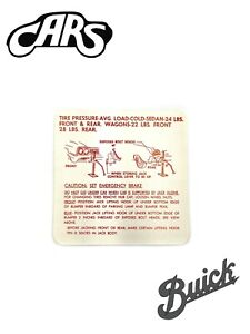 1963-1964 Buick Special & Skylark Jack Instructions | New | Free Shipping