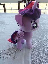 "My Little Pony Twilight Sparkle 13"" Plush Stuffed Animal Doll Purple Unicorn"