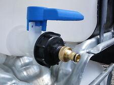 Regenwassertank Zubehör IBC Adapter Gardena Auslauf Kupplung für Regentonne