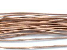 Lederband 1 Meter marine ca 1,5 mm für Ketten Ziegenrundriemen