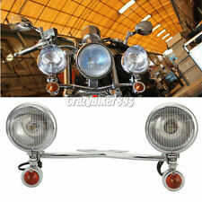 Passing Turn Signals Light Bar For Yamaha V-Star XVS 650 1100 Custom Silverado
