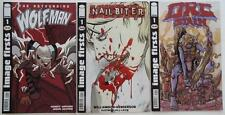 3 IMAGE FIRSTS Comics  THE ASTOUNDING WOLFMAN    NAILBITER    ORC STAIN