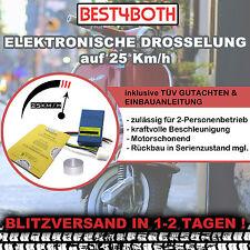 MOFADROSSEL 25 km/h Aprilia RS 50 PG SE PV PL RS4 50 TK Elektronisch Drosselsatz