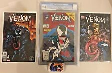 Venom #1 Lethal Protector CGC 9.8 & Venom #1/#6 RARE VARIANTS ONLY 3000 MADE