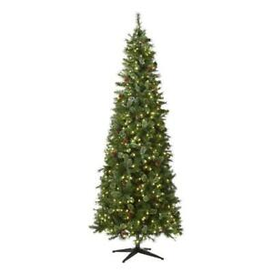 Home Accents Holiday 9 ft. Pre-Lit LED Alexander Pine Artificial Christmas Tree
