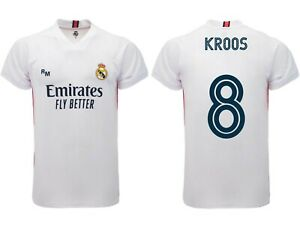 Trikot Kroos Real Madrid 2021 2020 Offizielles Produkt Blancos Home Toni 8