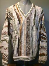 Vtg 1990s 90s Coogi Cosby Biggie Ugly Sweater Mens L Wild Crazy Hip Hop Classic