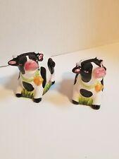 Vintage Cow Figurines, Farmhouse decor