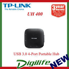 TP-LINK UH400 USB 3.0 4-Port Portable Hub NEW