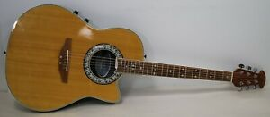 Celebrity By Ovation CC57 Classic Made in Korea Electric Acoustic Guitar - NICE!