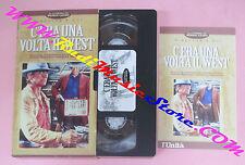 film VHS C'ERA UNA VOLTA IL WEST Sergio Leone Cardinale L'UNITA' (F104) no dvd