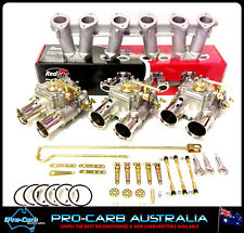 Triple 45DCOE Holden 6 cyl suit WEBER Red 149-202 Package carby carburettor