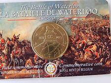 2 1/2 Euro 2015 Belgien Schlacht bei Waterloo in Coincard