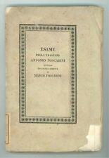 GASPARI GIOVAMBATTISTA LA TRAGEDIA ANTONIO FOSCARINI NICCOLINI ALVISOPOLI 1827