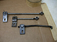 1963 - 69 MOPAR B BODY HURST 4SP SHIFTER RODS LEVERS REAL FACTORY LINKAGE SET