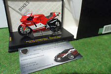 MOTO DUCATI DESMODECI MotoGP 2004 #65 L. Capirossi au 1/24 IXO RAB085 miniature