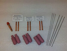 WP17 WP26 TIG Welding 19pc Consumable Set Ships from USA
