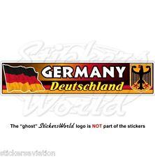 Allemagne drapeau allemand-ecusson deutschland, deutsch 180mm vinyle autocollant, decal