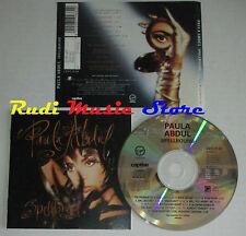 CD PAULA ABDUL Spellbound 1991 austria VIRGIN CDVUS 33 mc lp dvd vhs (CS8)
